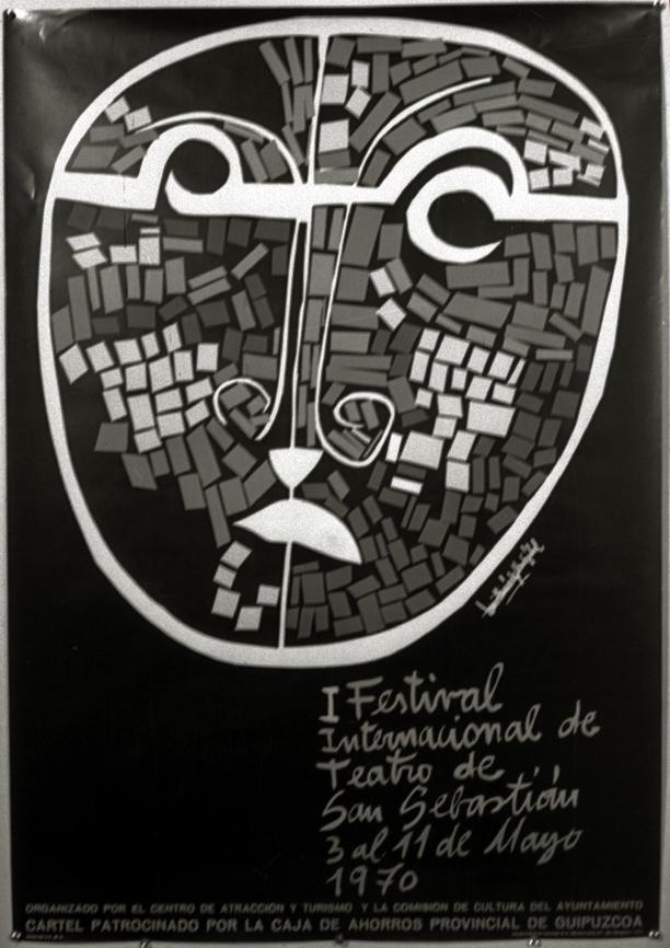 Cartel I Festival Internacional de Teatro de San Sebastian