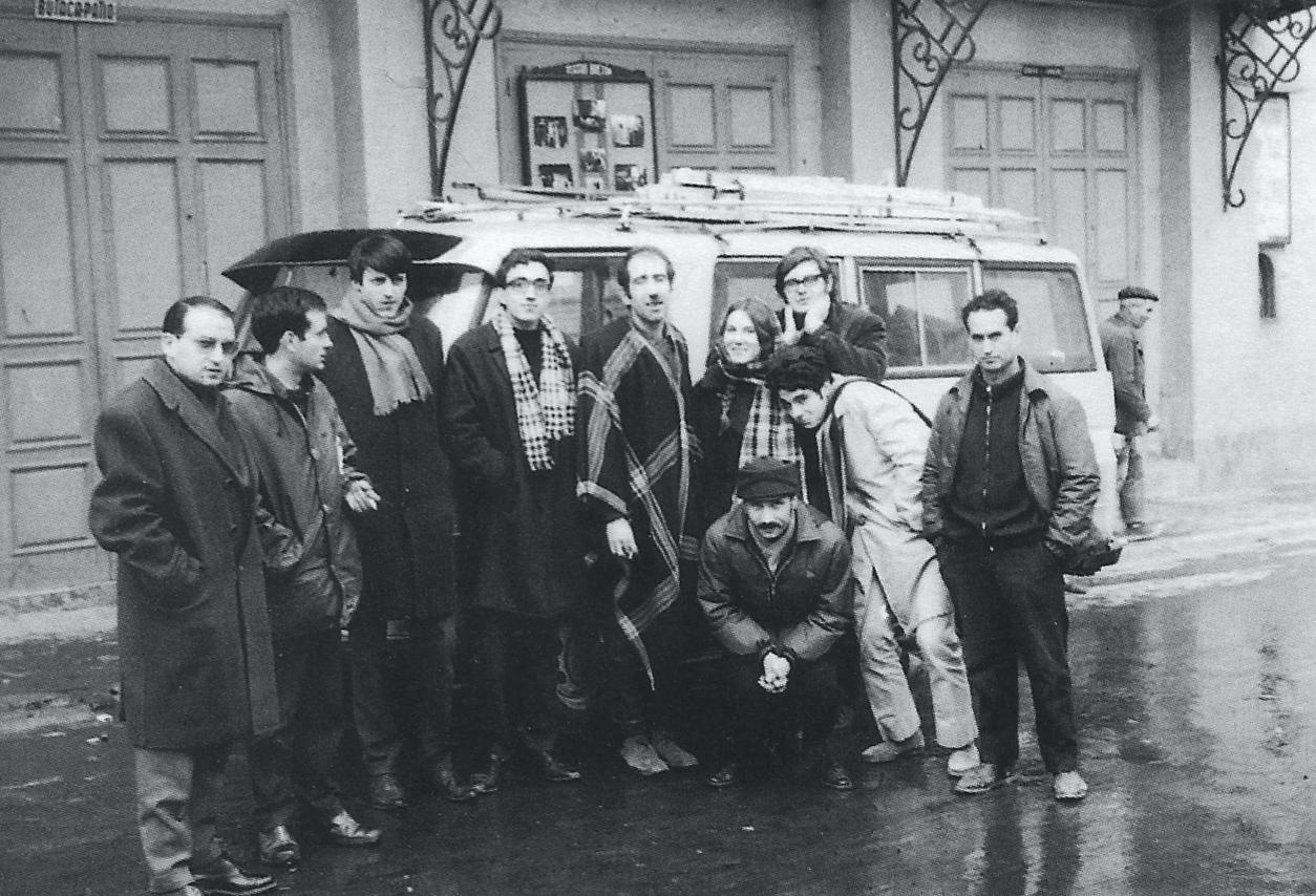 Estreno programa Mrozerk - Los Goliardos 1966