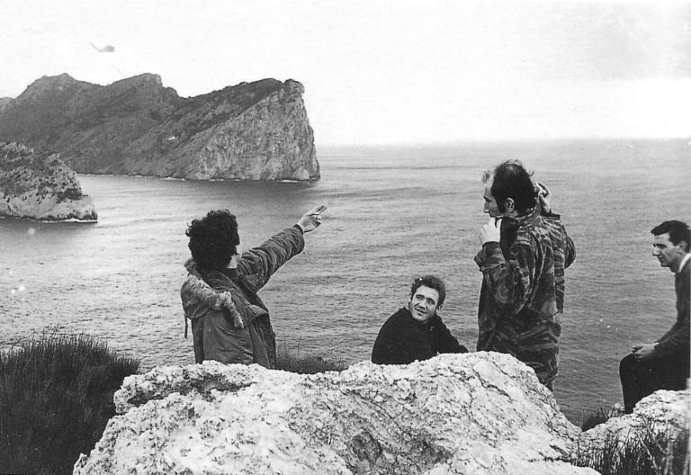 Gira de Los Goliardos por Cataluña en 1968