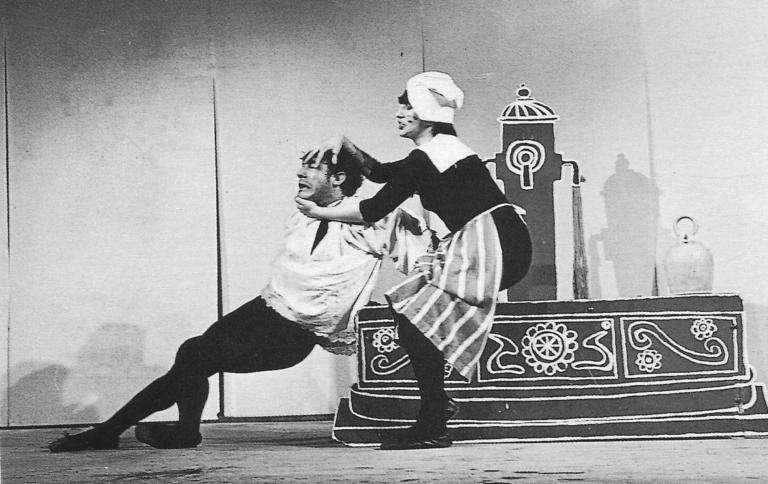 Juan de Buenalma escena 1969 Los Goliardos