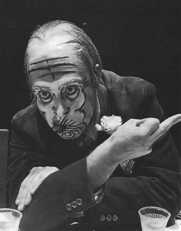 La boda de los pequeños burgueses - Los Goliardos Teatro 1972 primer plano